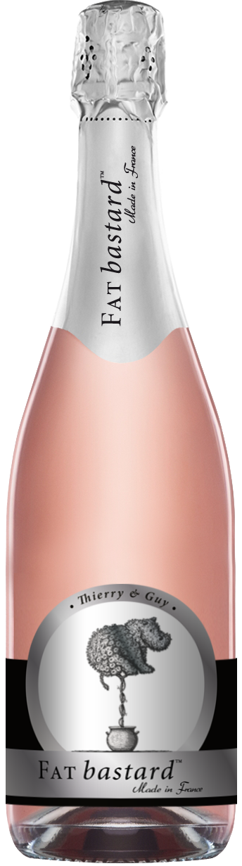 Sparkling Rosé Bottle